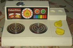 Fisher Price Magic Burner Stove