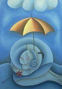 Refugio. Óleo sobre lienzo. Conéctate con tus emociones y sentimientos a través del arte.   Connect with your emotions and feelings through art. #pintura #arte #art