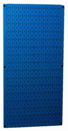 Pegboard tool storage metal pegboard garage storage peg board supplies by Wall Control for pegboard tool storage in garage storage and home organization where colored peg boards and magnetic pegboard hooks and supplies are organized. Garage Wall Storage, Pegboard Garage, Metal Pegboard, Garage Walls, Tool Storage, Storage Systems, Peg Board Hooks, Peg Boards, Drywall Anchors