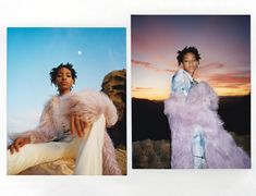 """Willow Smith """"fluorescent adolescent"""" in i-D Magazine. Manicure by Celebrity Manicurist, Tracy Clemens using Maxus Nails Strengthening Base and Top Coats"""
