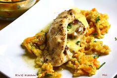 R'n'G Kitchen: Filet z kurczaka z mozzarellą i pomidorami
