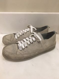 Ann Demeulemeester Ss13 Grey Suede Scamosciato Sz 41 Size 8 $225 - Grailed