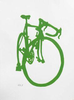 road bike paintings @ etsy