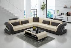 Scopetto Italian Leather Sectional
