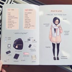 #meettheartist  thanks everyone who tagged me, I finally did it too haha ^-^ I'm basically a tiny hooman that is obsessed with art & food and literally lives in oversized clothes  I'm also quite the introvert, but I can be super crazy and loud when with close friends lolol  Btw! I tagged a few of my friends that I would like to see do the meme too *^* edit: moleskine*  typo lol