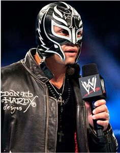 WWE Pictures | WWE News | WWE Superstars » Rey Mysterio Black Masks