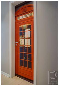Foto adesivo para porta