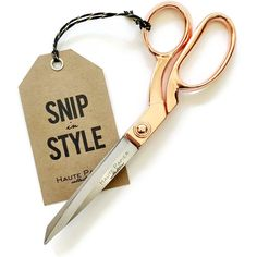 Rose Gold Scissors (Rose Quartz) (€24) ❤ liked on Polyvore featuring home, home decor, office accessories and fillers