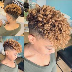 Natural should be fun! Gorgeous curls and color by @hautehairbylauren . #salonpk #schwarzkopf #lookbook #naturalhair #jacksonville #salonpk