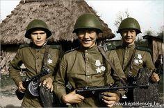 Szovjet 2.világháborús képek - színes, szovjet, képek, 2világháború