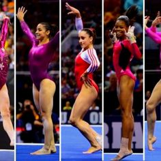 USA gymnastics Olympic team 2012