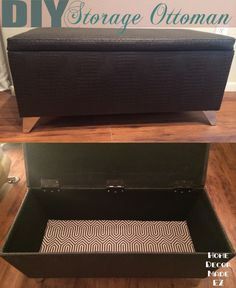 Great Diy Storage Ottoman