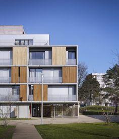 Galeria - 6 Residências Sociais em Eaubonne / LEM + - 5