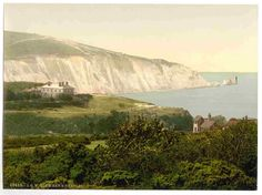 new to site Isle of Wight, Alum Bay and the Needles, England
