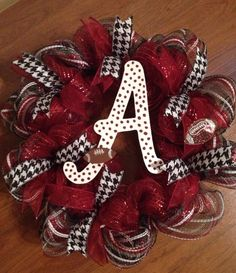 Alabama Crimson Tide wreath