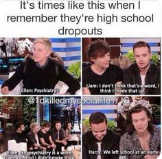 One Direction Harry Styles, One Direction Humor, One Direction Pictures, Direction Quotes, Louis Tomlinson, Zayn Malik, Liam Payne, Florian David Fitz, Funny Memes