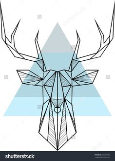 Image from http://image.shutterstock.com/z/stock-vector-vector-hipster-abstract-geometric-background-with-deer-218369566.jpg.