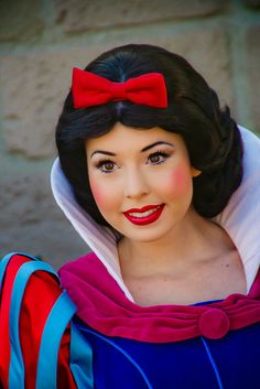Snow White-the best Snow White I've ever seen! She really looks a lot like the Character!!