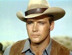 Lee Majors on The Big Valley as Heath Barkley