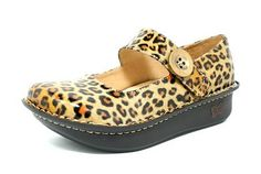 Another Alegria Paloma I own.  I never thought I would wear anything leopard print, but I wear these constantly.  They go with pretty much everything.
