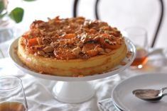 Maggie Beer's Sicilian Style Apricot Cheesecake