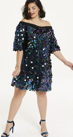 42 Plus Size Party Dresses {with Sleeves} - Plus Size Cocktail Holiday Party Dresses - Plus Size Fashion for Women - Plus Size Fashion For Women, Curvy Women Fashion, Plus Size Women, Womens Fashion, Latest Fashion, Plus Size Cocktail Dresses, Plus Size Party Dresses, Plus Size Outfits, Plus Size Homecoming Dresses