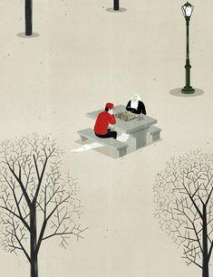 """The Wonderful illustrations of Alessandro Gottardo aka """"Shout"""" - COMO COC SIENTE QUE HA PASADO SU VIDA, HOY...28 ABRIL 2015, 7.15AM.RIO CUARTO - ARGENTINIEN"""