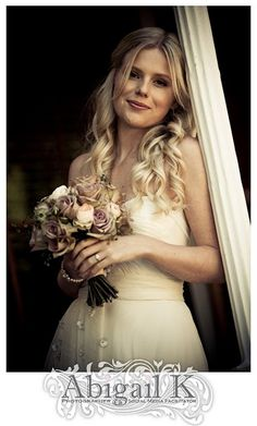 Love Chené's long loose curls. What a beautiful bride! See the wedding here: http://ohdarlingwedding.blogspot.com/2011/01/chene-andy-real-wedding-in-stellenbosch.html