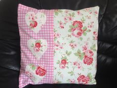 shabby chic cushion cover in cath kidston rosalie & by raegellie, £11.99