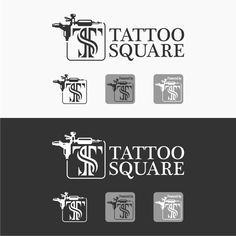 Freelance Work Projects Help TattooSquare.com with a new logo by @lvin