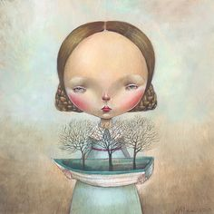 STEPHANIE, Dilka Nassyrova (aka Dilka Bear or Dilkabear) was born in Alma-Ata, Kazakhstan (USSR) in 1977; lives and work in Triste, Italy