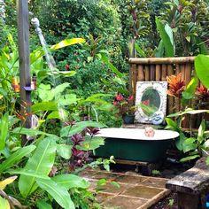 Origineel zwembad voor kleine tuin