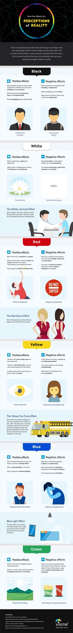 [Infographic] How color perception affects different aspects of our lives