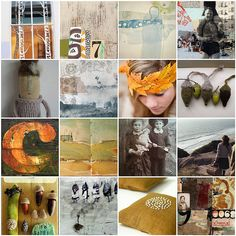 CAROLYN SAXBY - love of autumn colours, geometric design and textiles Carolyn Saxby, Beast From The East, Pretty Beach, Holly Leaf, Art Archive, How To Make Tea, Textile Artists, Pattern Paper