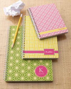 """Preppy Mod"" Notebook Set - Neiman Marcus"