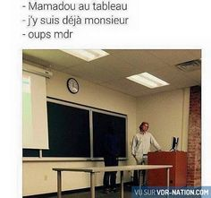 Mamadou où es-tu ? #VDR #DROLE #HUMOUR #FUN #RIRE #OMG