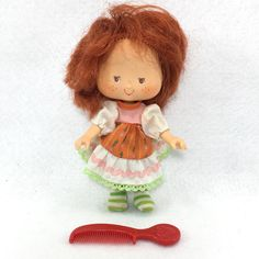 Vintage Kenner Strawberry Shortcake Party Pleaser Cafe Ole' Doll (#04)  | eBay