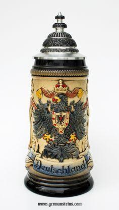 Deutschland Alliance of the German States Beer Stein