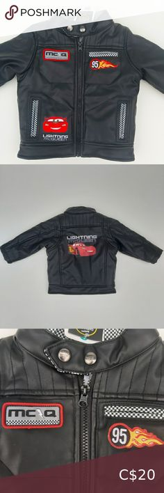2/30 Disney's Lightning McQueen Jacket 12-18 Disney's Lightning McQueen Jacket 12-18 Months Size L- 12-18 Months, more measurements in the photos. Color- Black Material- See photo of tag. This is NWT. Feel free to bundle this with other items in my closet to save big 💰💲👌 Thanks for looking, cheers. Thanks for looking at this item in my closet.feel free to share it and I will try and share something from your closet :) Cheers. George Jackets & Coats Girls Parka, Girls Puffer Vest, Blue Puffer Jacket, Blue Raincoat, Raincoat Jacket, Long Sleeve Running Shirt, Running Shirts, Baby Boy Vest, Georges Girl