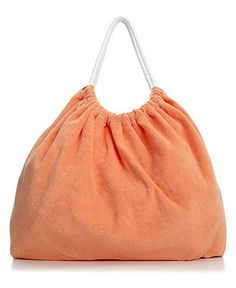 terry cloth beach tote at macy's