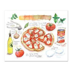 Pizza recipe – Horizontal
