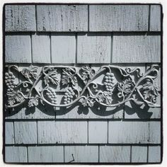 Antique Cast Metal Grapevine Panel by OldHouseChic on Etsy, $35.00