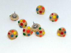 Candied cookie earrings by DeckedOutJewelry on Etsy