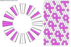 Image result for pink ribbon bracelet patterns