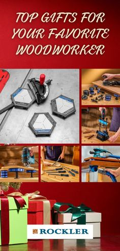 Having a hard time knowing what to get the woodworker in your life this holiday season? Look no further! Rockler offers tons of top gifts to choose from. #createwithconfidence #topgifts #woodworkinggifts #rocklerinnovations #benchcookie #chisels Woodworking Hand Tools, Rockler Woodworking, Woodworking Supplies, Woodworking Shop, Top Gifts, Gifts For Dad, Power To The People, Knobs And Pulls, Household