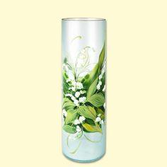 SHOP-PARADISE.COM:  Vase aus Glas, 500 mm 30,99 €