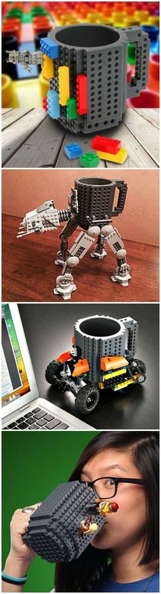 Crazy Easy Lego Machine Builds That Work // [http://theendearingdesigner.com/10-cool-lego-machine-constructions-that-you-never-imagined-possible/]