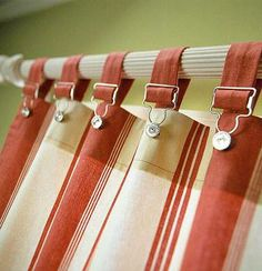 14 DIY Kitchen Window Treatments - - Whether you're looking for casual curtains or something a little more formal, these DIY window treatments are sure to hit the spot. We have ideas for valances, shutters, curtains, and more.