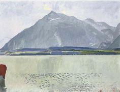 Thunersee mit Niesen, 1931 - Cuno Amiet