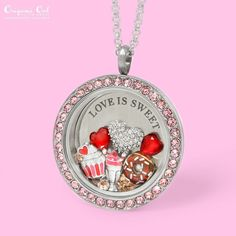 Origami Owl - New 2016 Valentine's release! Love is Sweet ❤️ www.charmingsusie.origamiowl.com